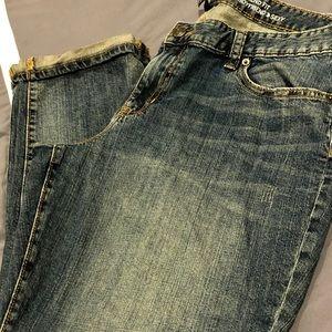Gap sexy boyfriend crop jeans
